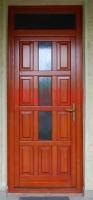 Üveges bejárati ajtó Budapest X. kerület
