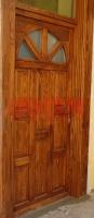 Napsugár mintás bejárati ajtó Budapest VIII. kerület