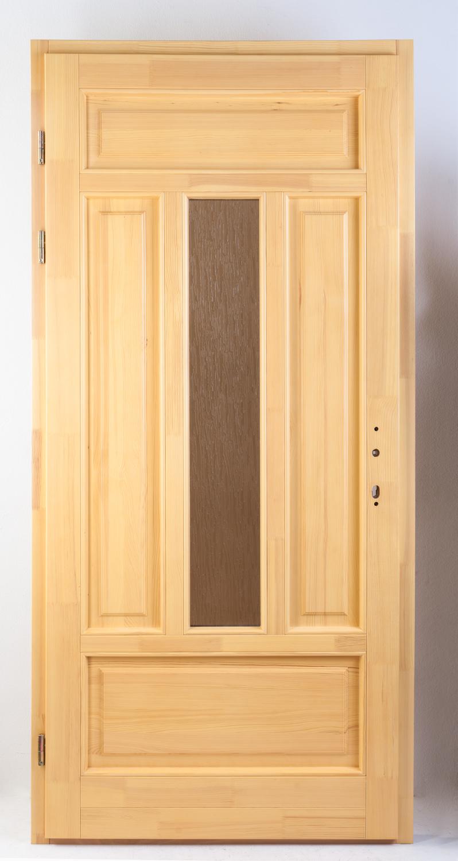 együveges fa bejárati ajtó