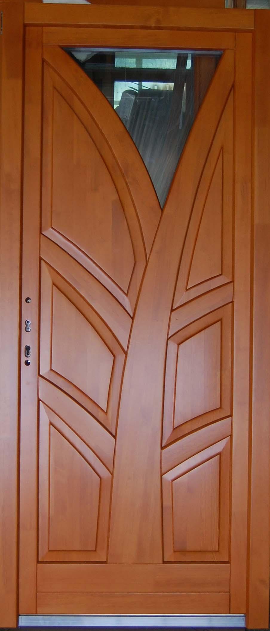 Műanyag bejárati ajtó festése