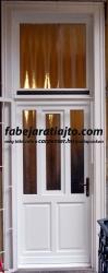 tokraépített, bontás nélküli beépítéses bejárati ajtó