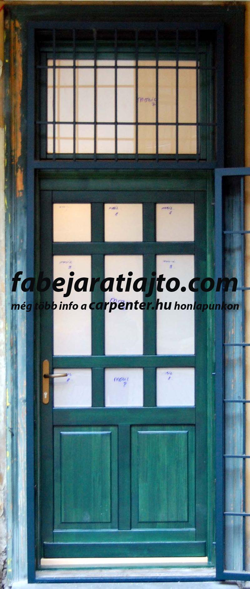 kültéri ajtó csere