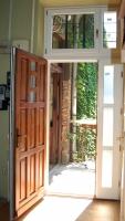 Kétszárnyú bejárati ajtó 22. kerület