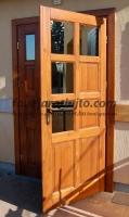 Kétszárnyú dupla bejárati ajtó csere