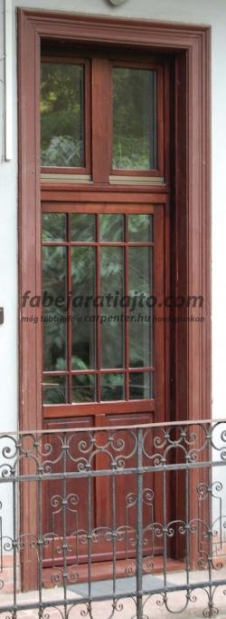 tokráépítéses, bontás nélküli bejárati ajtócsere