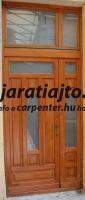 Kétszárnyú belvárosi bejárati ajtó csere Budapest