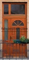 Egyedi napsugár bejárati ajtó Budapest