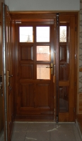 Borovi beltéri ajtó csere