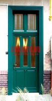 ablakos bejárati ajtó