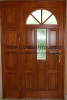 Üveges napsugár bejárati ajtó