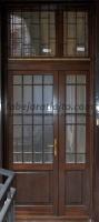 Kétszárnyú vasrácsos ajtó csere