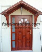 oldalvilágítós bejárati ajtó