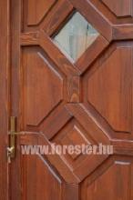 Egyedi fa bejárati ajtó csere