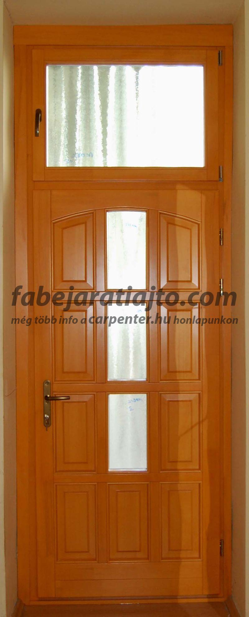 tokráépítéses bejárati ajtó cseréje