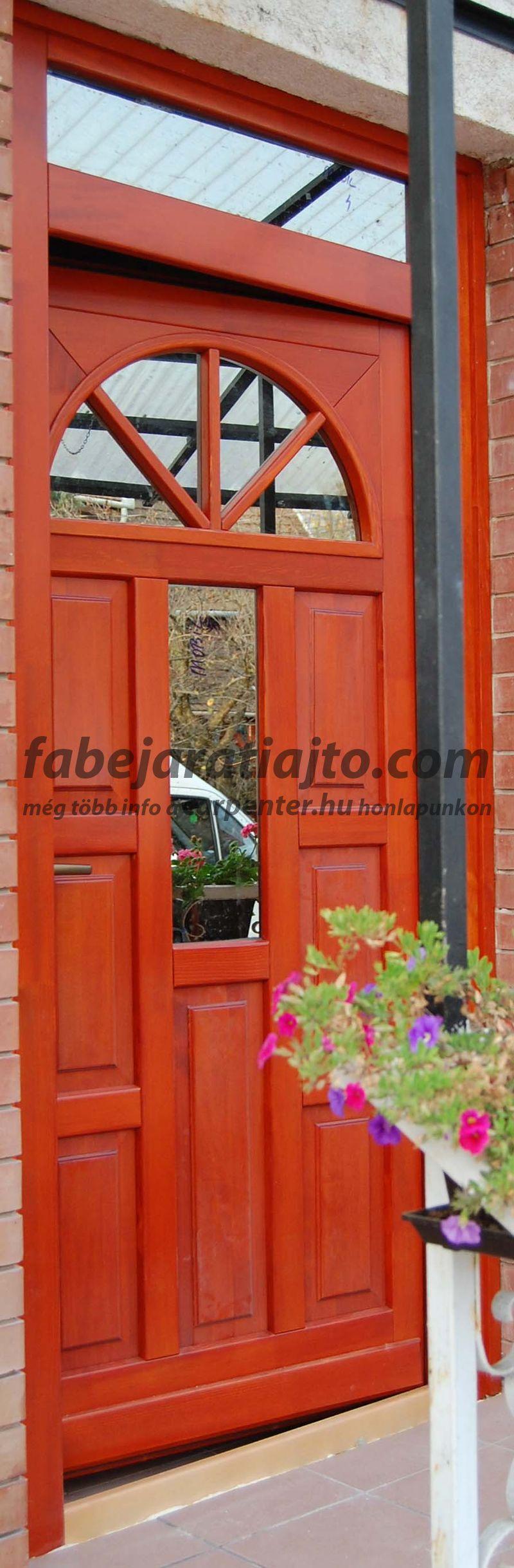 bejárati ajtó a 17. kerületben